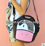 2013 cute Neoprene soft lunch bag for woman