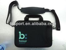 14.1'' cartoon picture Neoprene shoulder laptop bag