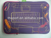 13'' cartoon picture Neoprene laptop sleeve