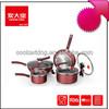 Nonstick Aluminum Cookware sets/induction cookware sets