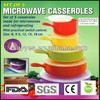 Set of 5 Microwave Casseroles