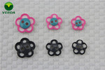 Flower Shaped Resin Buttons