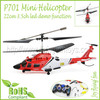 P701 Mini Helicopter Infrared Remote Control RC Model