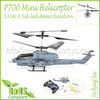 P700 Mini Helicopter IR Remote Control RC Hobby