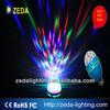 LED Rotating bulb rgb led full color rotating lamp rotating led lamp