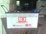 dry car battery N100L 100AH