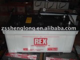 Dry Charged used storage battery for vohicle N200L 12V/200AH