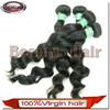 Beamyshair factory double weft raw wholesale pure indian remy virgin human hair weft