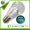 6000K 5W E27 led bulb