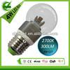 2700K 4W E27 led bulb