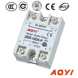 Single Phase DC AC solid state relay SSR-10DA-H