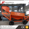 Mobile sand washing stone drum separation screen