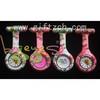 Color printing silicone nurse watch