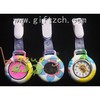 Water printing silicone nurse watch glow in dark