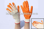 XD 10gauge cotton knitted Laminated working safety gloves