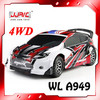 WL Toys A949 1:18 Whole Proportion 4 Wheel Drive 2.4G Remote Control Electric Car Maximum Speed 40Km/h Speed Racing Car