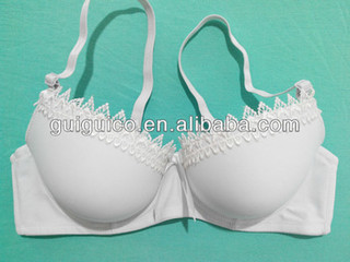 Push up Lace White Lace Bra