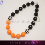 2014 Wholesale Cheap Beads Jewelry Handmade Necklace Fashion Chunky Necklace For Kids