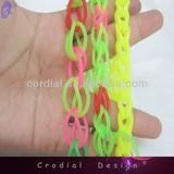 2014 Fashion Kids Handmade Jewelry Basketry Rainbow Loom Bracelet Stretch Bracelet For Custom Spring Jewelry