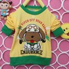 2014 spring and autumn new children 's clothes for boys and girls cartoon casual long-sleeved t-shirt bottoming shirt A004