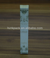 Novel design Perfume packaging boxes suppliers