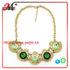 NK4608 Jingmei latest model fashion emerald necklace jewelry 2014