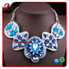 NK4445 2014 fashion germanium statement necklace jewelry