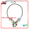 NK4637 Jingmei Statement necklace shourouk colorful stone