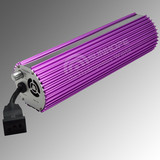 400w, 600w, 1000w Fan-cooled Purple Round Dimmable Digital Electronic Ballasts for HID Lamps