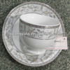 12pcs Porcelain Coffee/tea Cup&Saucer