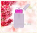 Pump style nail polish remover bottle/nail polish remover bottle/ empty bottles