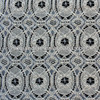 white french crochet lace fabric