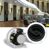 Frameless ceiling speaker system