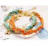 Handmade Charm Cord Bracelet Friendship Woven Hand Jewelry
