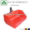 1500mm Wide - Tractor Implements 3 point Trip Scoop