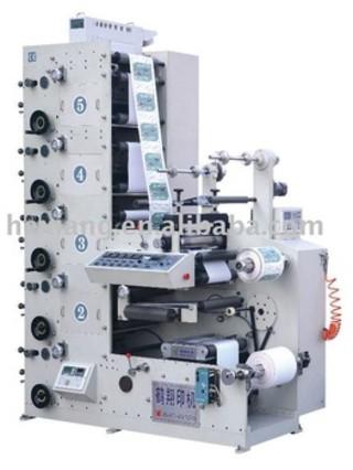 RY520-5B label flexo graphic Printing machine