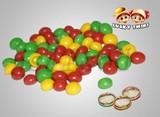 Colorful Crispy Chocolate Jelly Bean