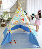 Hot sale cotton canvas pop up teepee tents for kids