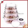 662DB 5pcs casserole pot 12-20cm kitchenware enamel cookware