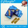 boxed elastic waterproof wound plaster / adhesive bandage