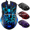 New fashion 6D optical gaming mouse with LED light