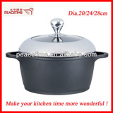 Withford Coated Die-casting Aluminum Non-stick Casserole