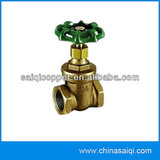 brass compression gate valve