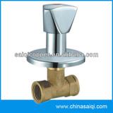 brass built-in stop valve