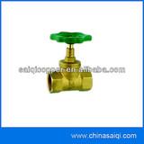 brass gas stop valve