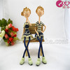 160MM Boy annd girl doll Resin Craft Promotional Christmas Gifts