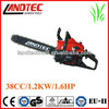38cc chain saw wood cutting machine
