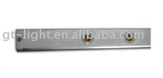 Brushed Aluminum Light Bar 5X1W