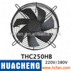 Cooling fan,axial flow fan ,tube axial fan, exhaust fan, wall exhaust fan THC250HB