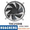 Cooling fan,axial flow fan ,tube axial fan, exhaust fan, wall exhaust fan THC250HB
